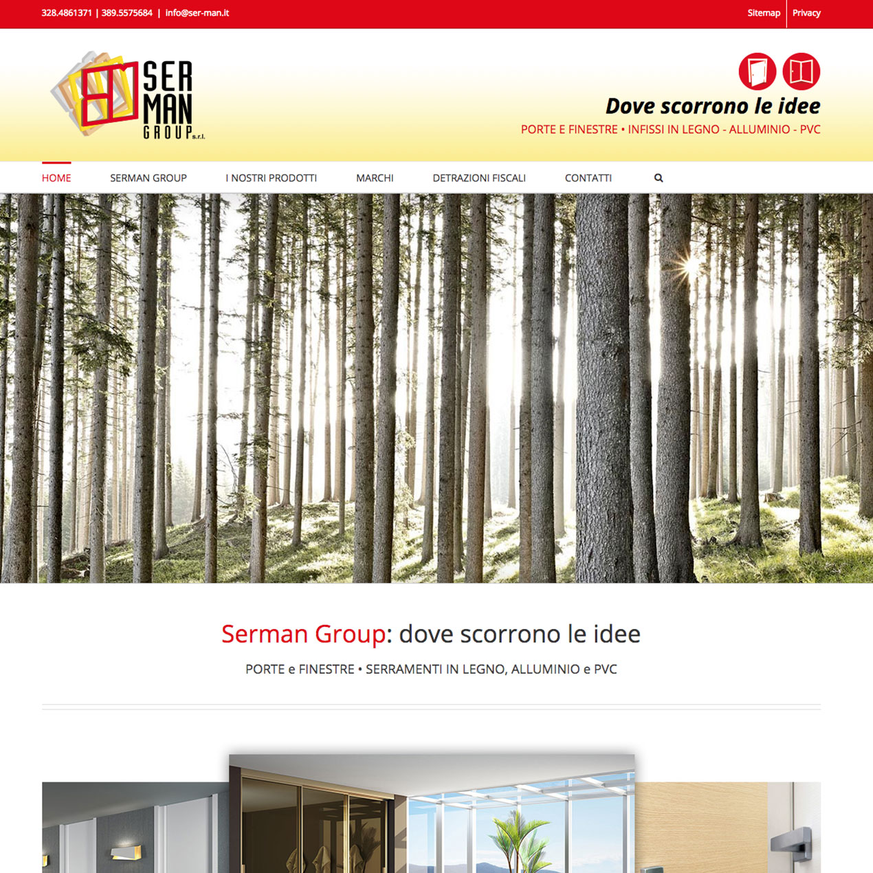 SERMAN Group | website