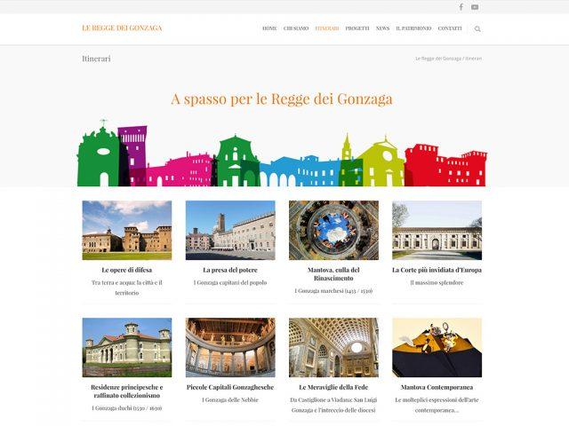 Le Regge dei Gonzaga | Nuovo sito MADEINPEGO